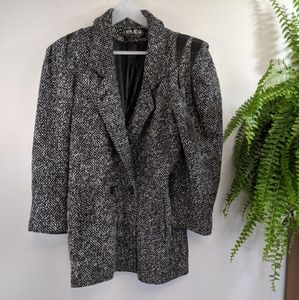 Vintage Elco Tweed Rocker Looking Jacket